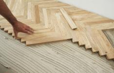 Hướng dẫn lắp đặt sàn gỗ xương cá độc đáo