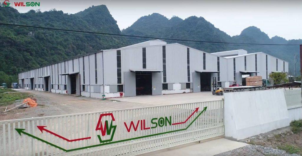 Nhà máy sản xuất sàn gỗ công nghiệp - Wilson Group